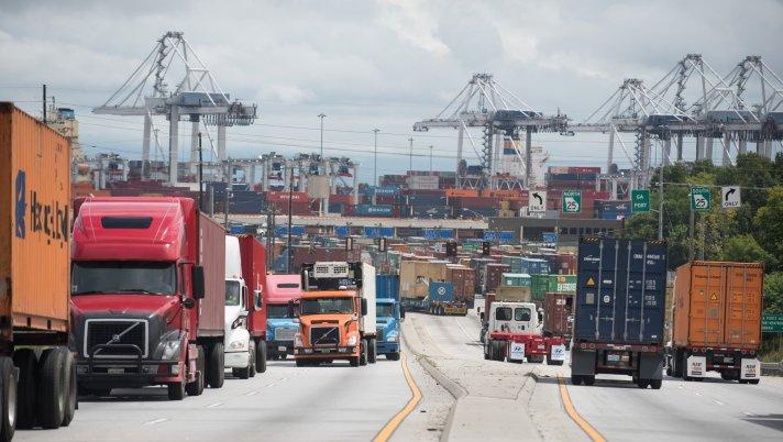 truck-traffic-savannah-john-carrington