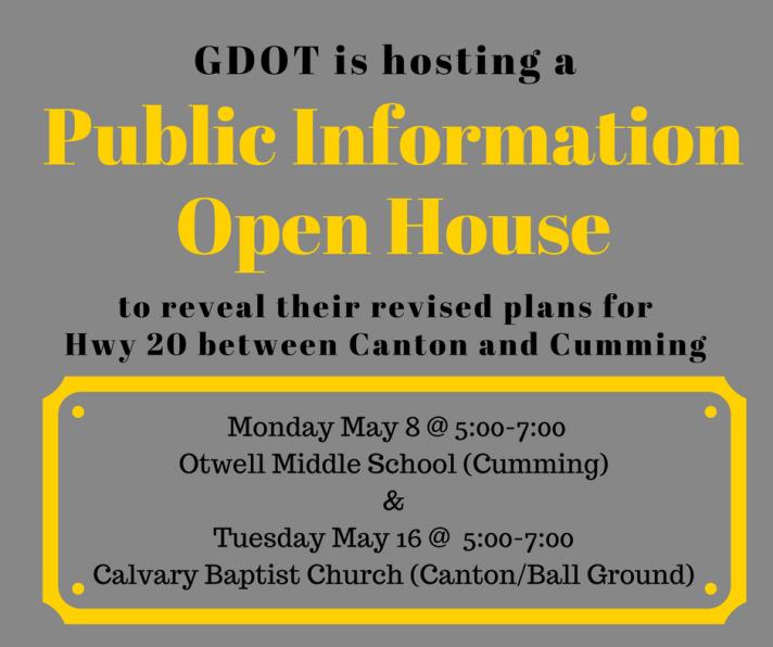 GDOT Open House May